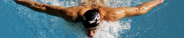 Inspirational swimmer Phelps.