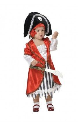 disfraz de pirata beb