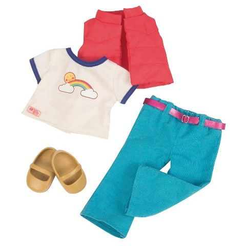Our Generation Retro Corduroy Doll Outfit (Already Purchased)