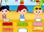 I ristoranti sul mare, sfruttando le festività primaverili, hanno aperto la loro attività. I bambini, tra un gioco e l'altro, hanno appetito e i tramezzini sono ottimi spuntini!
