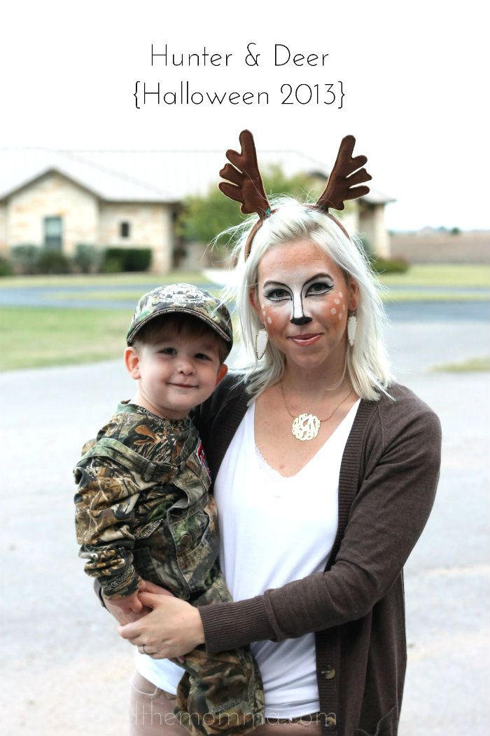 Hunter and Deer costume // the MRS. & the MOMMA: Trunk-Or-Treat // mommy and son costume
