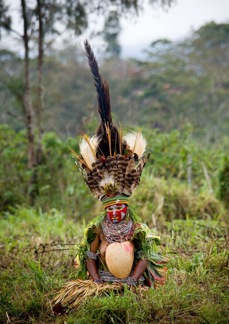 Tribal gathering in Papua New Guinea: the Mount Hagen Sing-sing