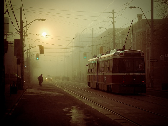 Toronto, transit. Hauntingly beautiful