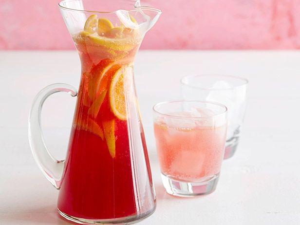 Sparkling Cranberry Cocktail #ThanksgivingFeast