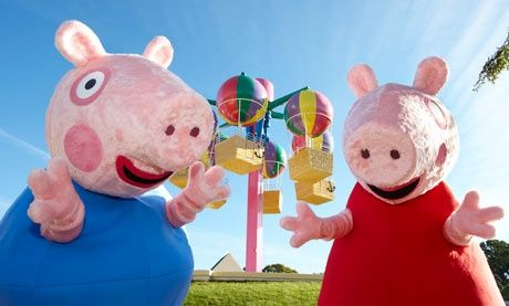 #School Holiday Ideas: top 10 #theme parks in UK - Peppa Pig World. Paultons Park, Hampshire
