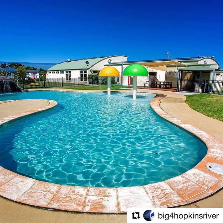 #Repost @big4hopkinsriver  Was a Great day to hit the pool #big4holidayparks #resortpool #fun #swim #waterslide #stay3280 #play3280 #relax3280 #destinationwarrnambool #greatsoutherntouringroute #southwestvictoria http://ift.tt/2hYnvuT