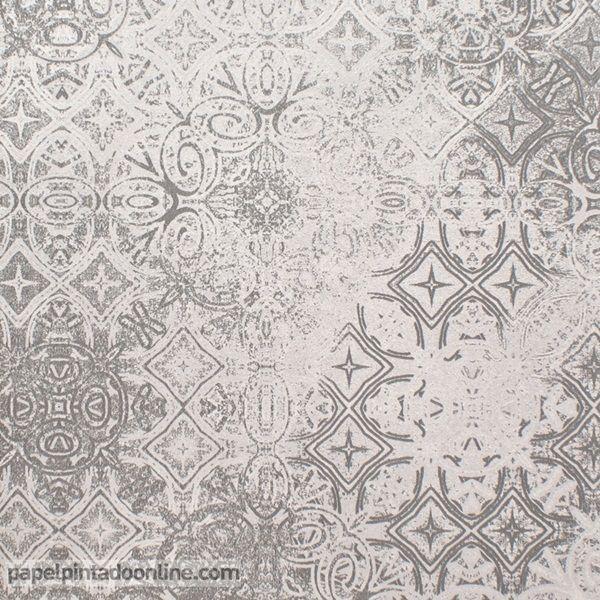 Las 25 mejores ideas sobre papel de pared pintado en - Papel pintado blanco y gris ...