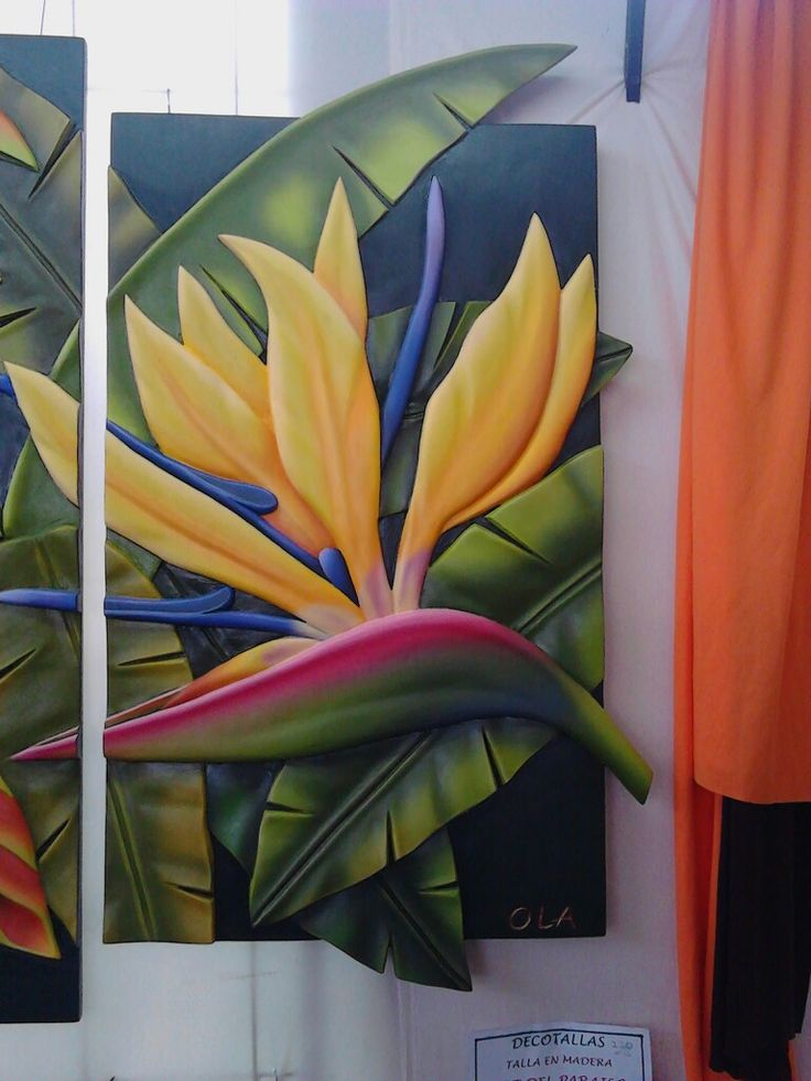La flor del pajaro