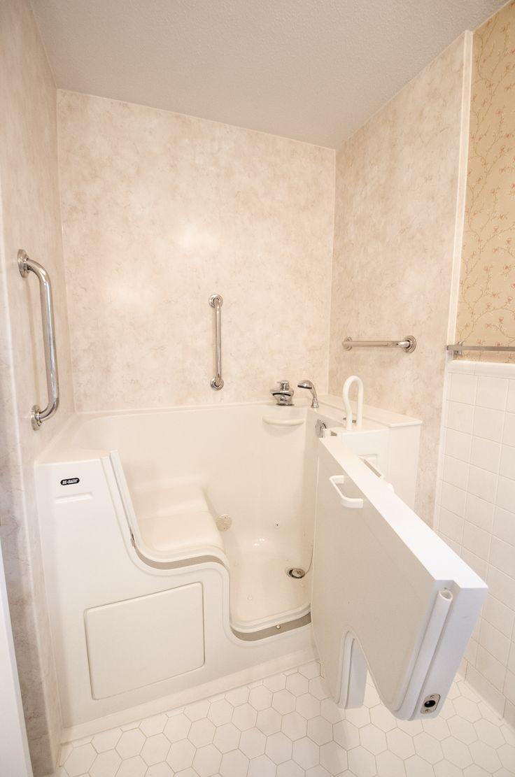Best Images About ReBath Remodels On Pinterest Frameless -  bathroom remodel for handicapped people