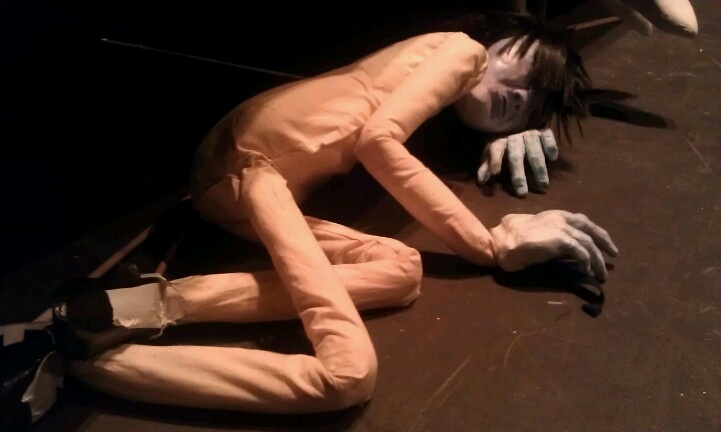 Tokubei, my Japanese Bunraku-style puppet. Currently unclothed!