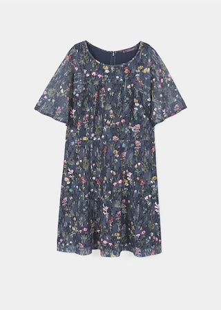 Vestito pizzo | VIOLETA BY MANGO  Flower lace dress