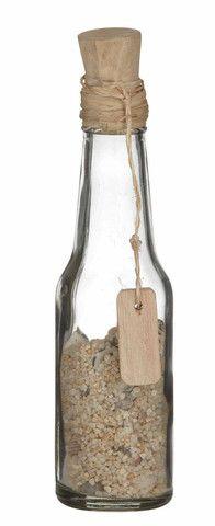 Beach Theme Message in a Bottle 16cm