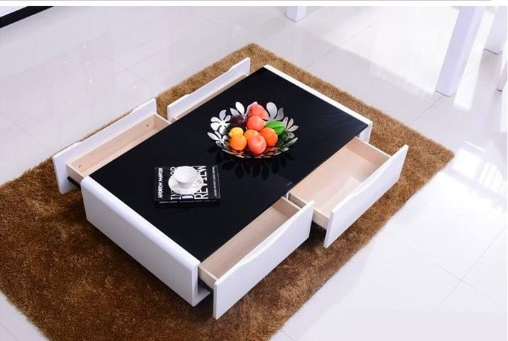 Sala de estar minimalista moderna mesa de centro mesa de - Mesas de sala modernas ...