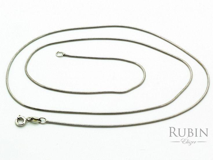 Fehér arany kígyó nyaklánc