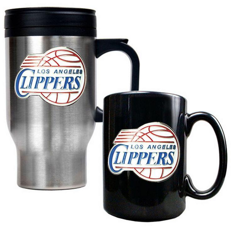 Los Angeles Clippers 2-pc. Mug Set, Multicolor