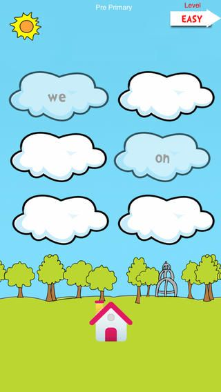 Sight Words – This app has pre-primary and primary lists to practice. There are only 10 words for each list it goes through, but the games have more words. I love the word bingo! There are easy and hard settings. (Ads)
