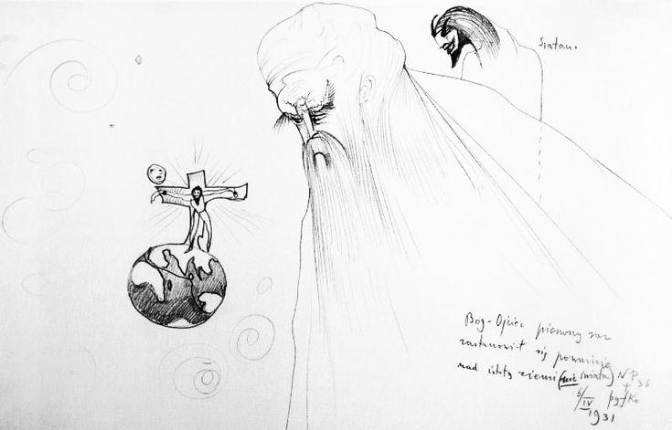 witkacy: Bóg Ojciec pierwszy raz poważnie zastanowił się nad istotą ziemi (1931).jpg
