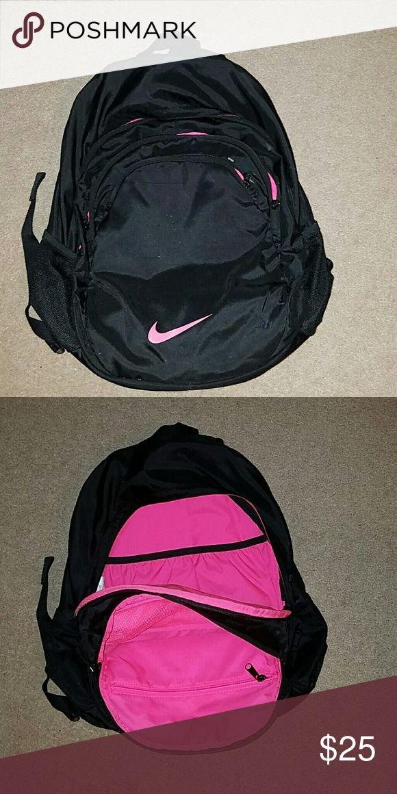 57117afde17 Nike backpack   Pinterest   Black nike backpack, Nike bags and Backpacks