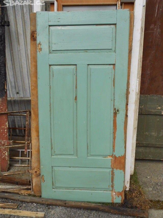 Prodám různé staré dveře ze starých chalup - obrázek číslo 2