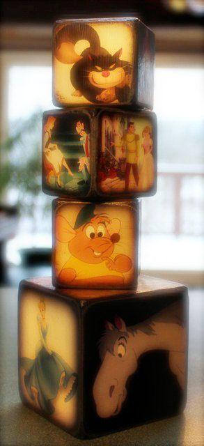 Cinderella Blocks by ChickenDoodles on Etsy, $25.00