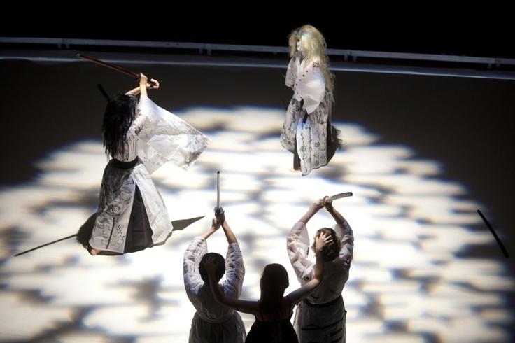 Krakow, Teatr Laznia Nowa, spektakl Zemsta Jest Kobietą