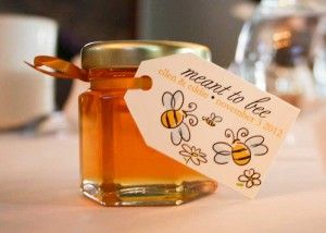 Meant to Bee Honey Wedding Favor Tag
