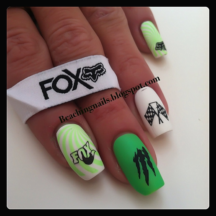 13 best Nails images on Pinterest | Fox racing nails, Nail scissors ...