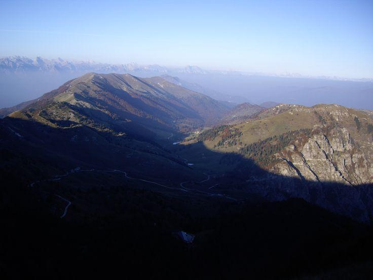 Vista da Cima Grappa verso Est (Italy)