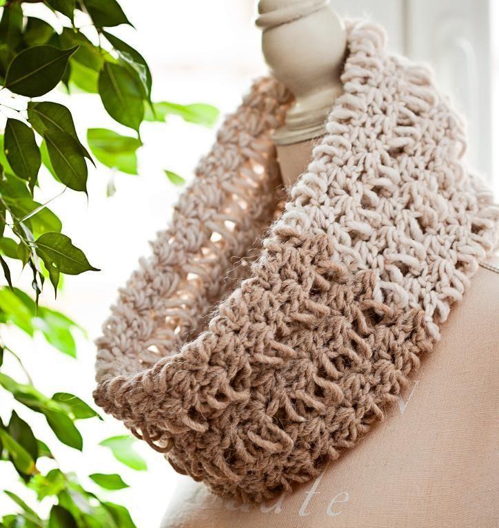 18 besten Keyhole scarf Bilder auf Pinterest | Kopftücher, Stricken ...