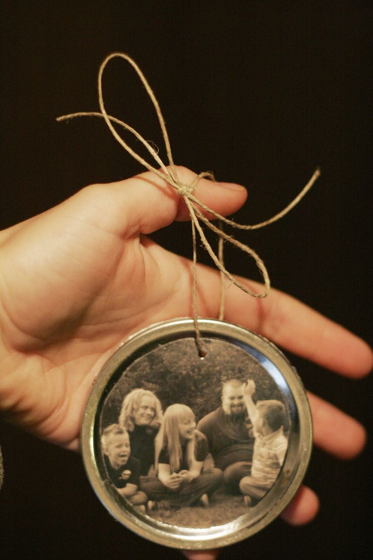 Primitive christmas ideas to make - Hello Squirrel Canning Jar Lid Ornaments Picture Ornamentsornaments Ideasphoto Christmas Ornamentsdiy