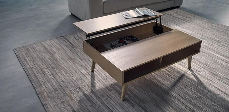 With its functional elevated design, there's plenty of hidden-away storage with this table. Made with Appalachian-Amercian White Oak