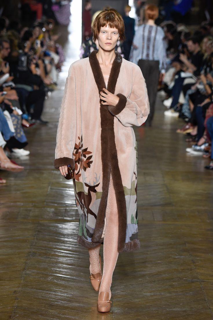 Ulyana Sergeenko Couture Fall-Winter 2016/17 show in Paris
