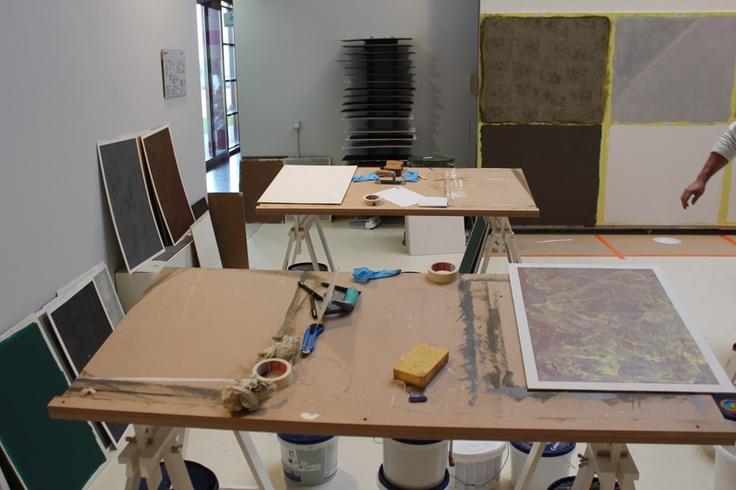Ampia e spaziosa, l'aula per le esercitazioni pratiche è ampiamente dotata di strumenti e supporti didattici.