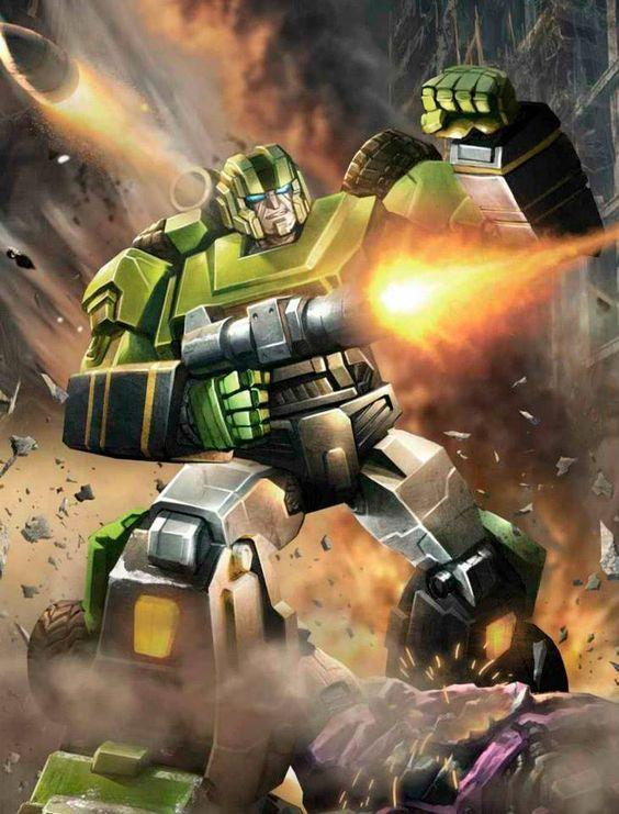 Autobot Hound Artwork From Transformers Legends game