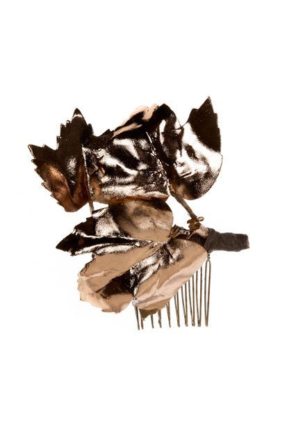 Hair Accessories You'll Actually Want To Wear #refinery29  http://www.refinery29.com/hair-accessories-for-women#slide-8  Add some goddess vibes to your up- or half-do with a gilded leaf from Cult Gaia. This comb is like a next-gen flower crown: a touch of nature with a rad metallic finish.Cult Gaia Dani Comb $60, available at Cult Gaia. ...