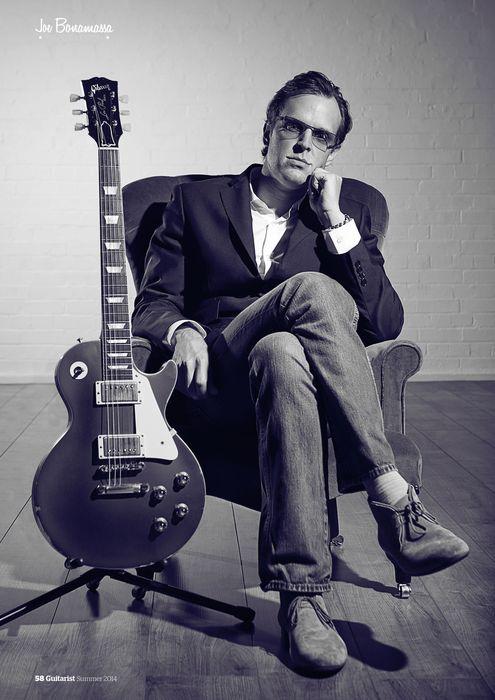 Joe Bonamassa in Guitarist Magazine