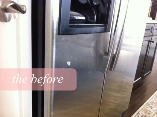 how to: naturally clean stainless steel (before & after)