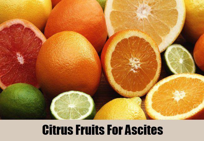 Citrus Fruits For Ascites