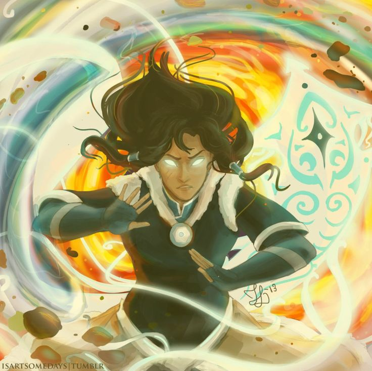 She Knows All Four Elements Watch The Legend Of Korra
