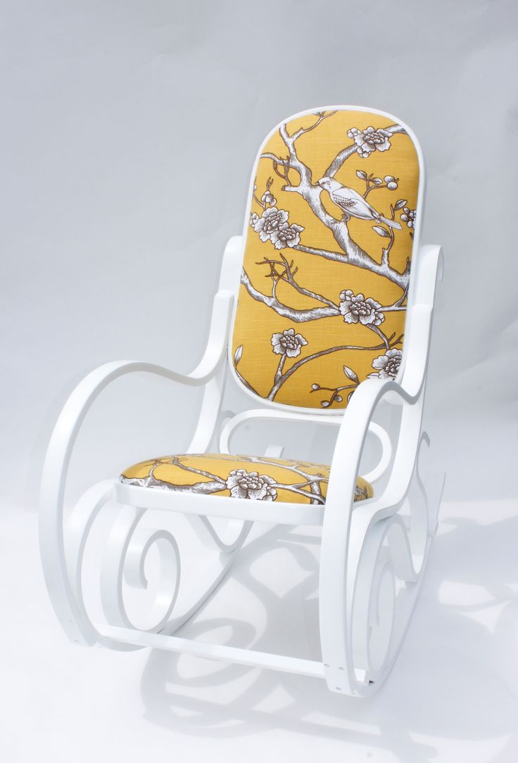 I have one of these . . . it doesn't look this nice though. Wonder how hard it would be to re-upholster the padding?