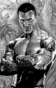 Randy Orton by ShomanArt.deviantart.com