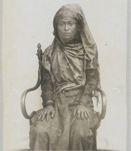 Indonesian heroine Cut Nyak Dien (1850-1908), Sumatra. Date unknown.
