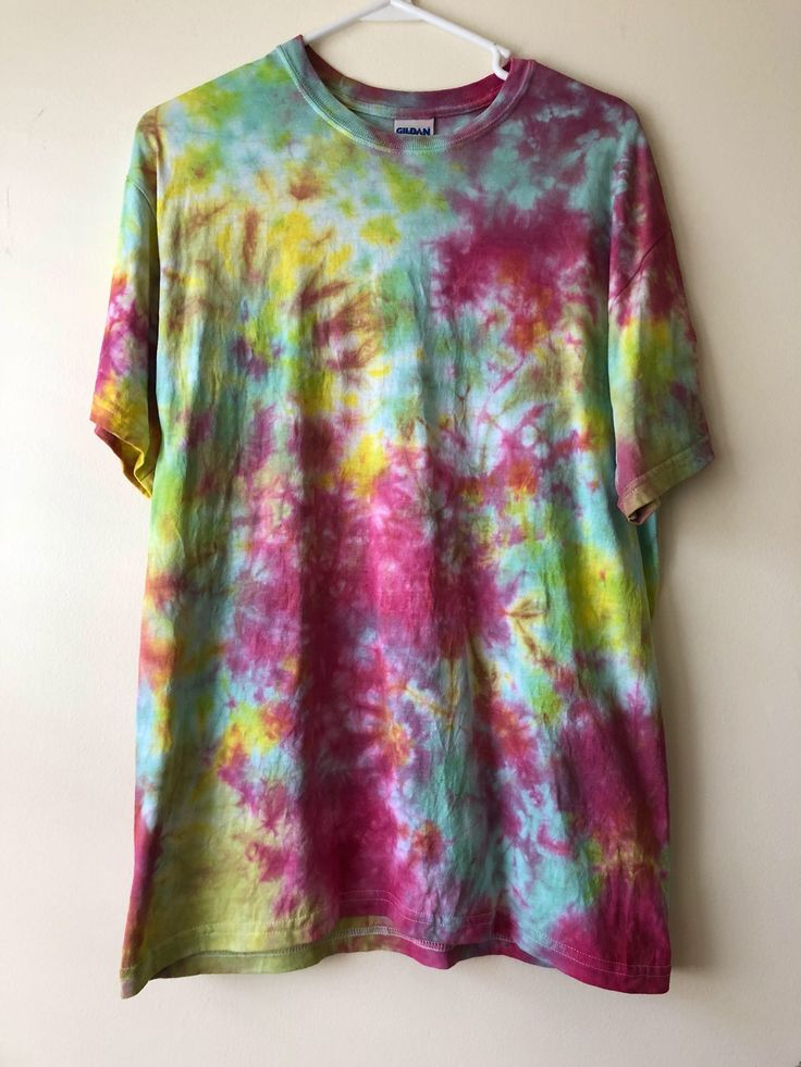 Excited to share the latest addition to my #etsy shop: Rasta theme Tie Dye Shirt
