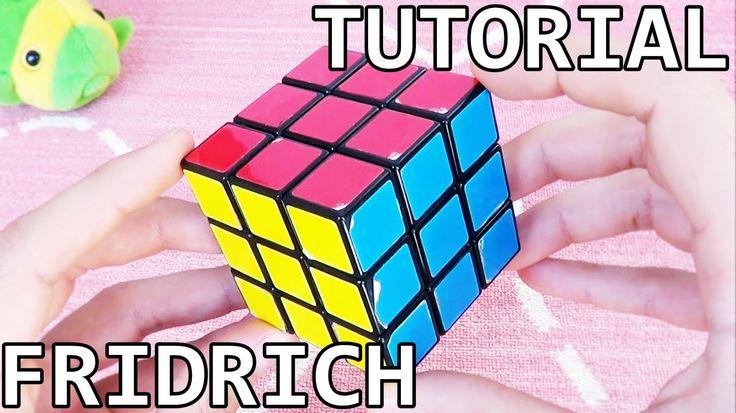 Cómo RESOLVER el Cubo de RUBIK con el Método FRIDRICH (reducido) | Tutor...