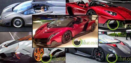 10 Jenis Mobil Lamborghini yang paling Termahal