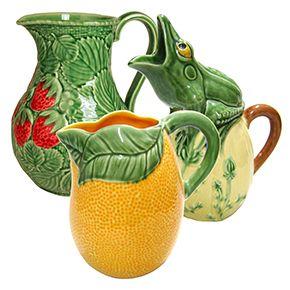 bordallo-pinheiro-jugs
