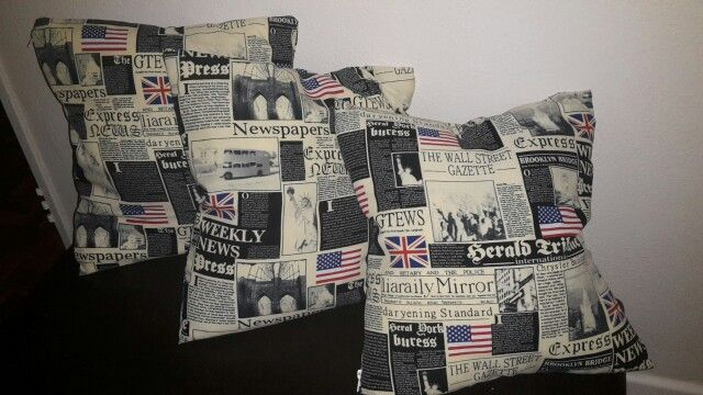 New scatter cushions :-) part of mu holiday  projects. Giving my lounge a face lift :-)