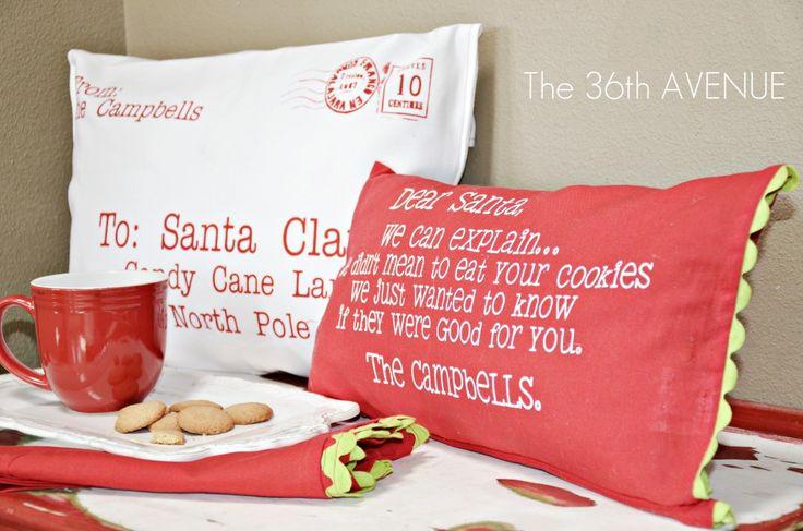 Idea regalo: cuscini di Natale e Shabby