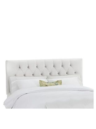 53% OFF Skyline Tufted Velvet Headboard (White)