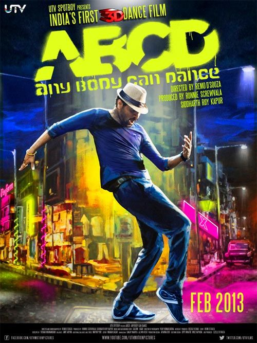 First Look of Any Body Can Dance (ABCD)- Prabhu Deva, Remo D'Souza, Dharmesh